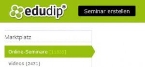 Edudip Webinar Plattform