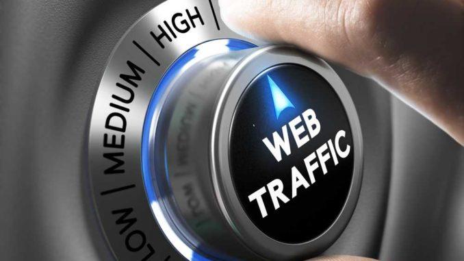 Rankings und Traffic einer Webseite