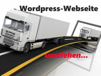 Anleitung Wordpress Webseite umziehen